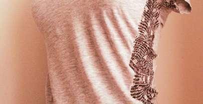 RUMS Camiseta con encaje (DIY)