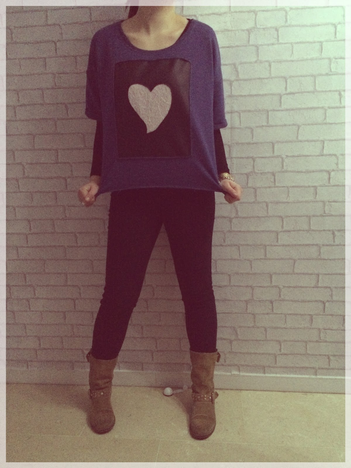 RUMS #6  Sudadera amorosa, love, love, love…