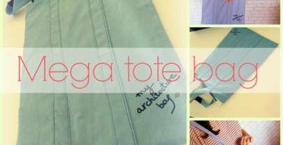 DIY Mega Tote Bag