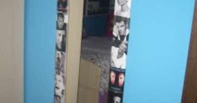 Espejo customizado con fotografías