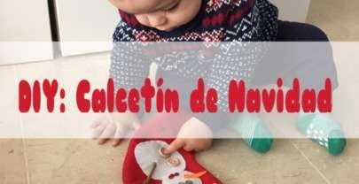 DIY: Calcetín de Navidad