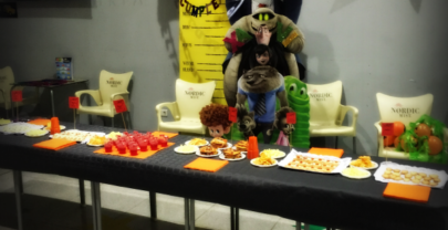 Fiesta infantil en Halloween