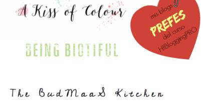 Mis 3 blogs prefes del curso Hello!Blogging PRO