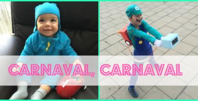 Carnaval 2016: Pocoyó + Luigi