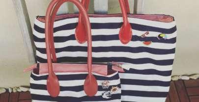 DIY Bolso marinero (patrones gratis)