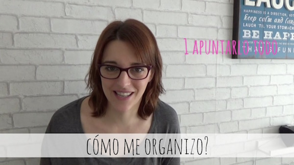 VIDEOCOTI Cómo me organizo?