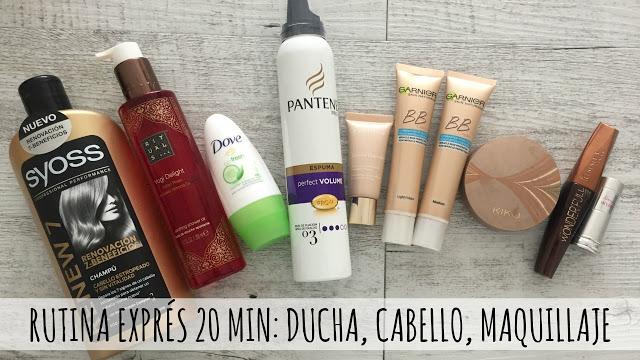 VIDEOCOTI Rutina diaria de ducha, cabello y maquillaje