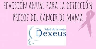 Revisión anual para la detección precoz el cáncer de mama