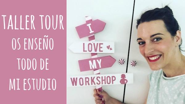 Taller Tour Os enseño mi estudio y SORTEO!!