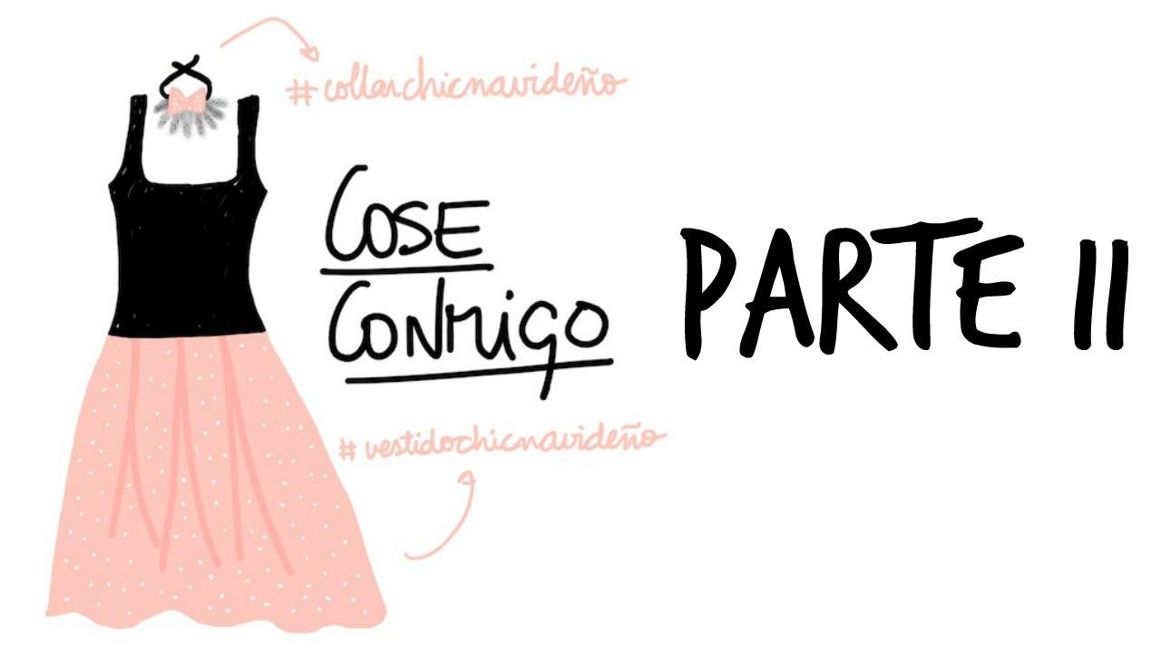 COSE CONMIGO VESTIDO DE NAVIDAD BURDA PARTE II