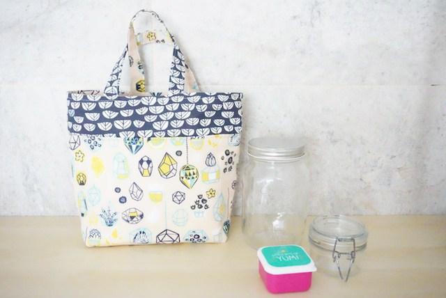DIY LUNCH BAG O BOLSA DE MERIENDA, PASO A PASO CON SORTEO