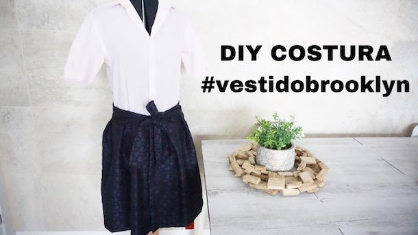 DIY COSTURA FÁCIL VESTIDO BROOKLYN
