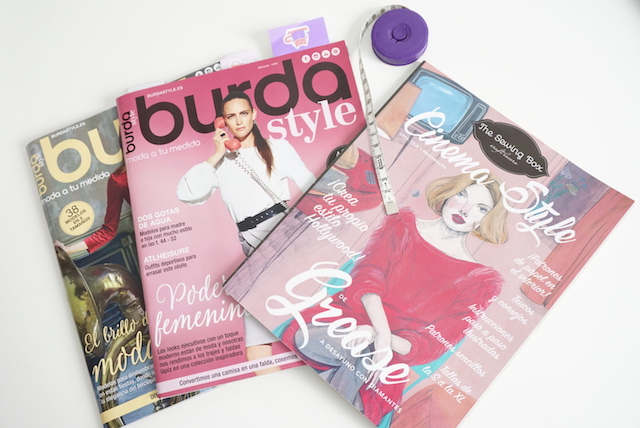 burda the sewing box
