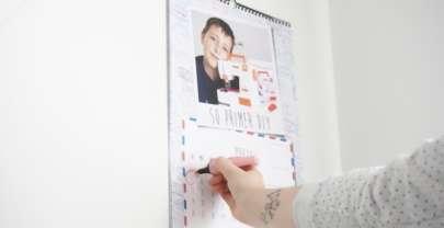 Calendario personalizado por www.calendariospersonalizados.es, un calendario blogger y ¡SORPRESA!