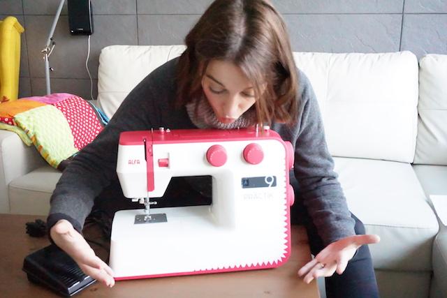 unboxing maquina de coser alfa practik 9 port 00