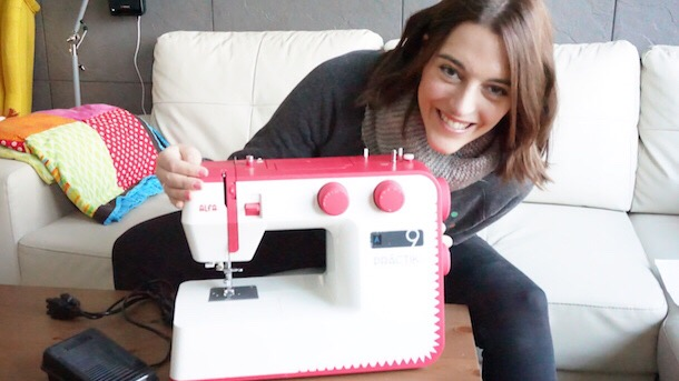 Unboxing máquina de coser ALFA PRACTIK 9