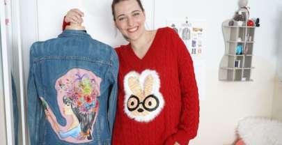 DIY Costura Customización de ropa con aplicaciones