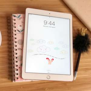 fondo iPad nubes