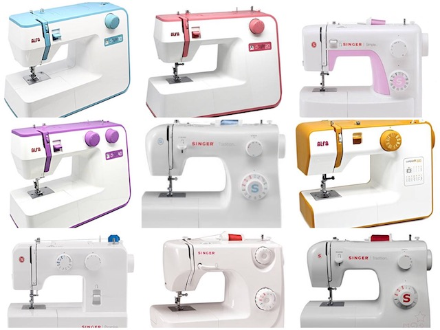 máquinas de coser low cost