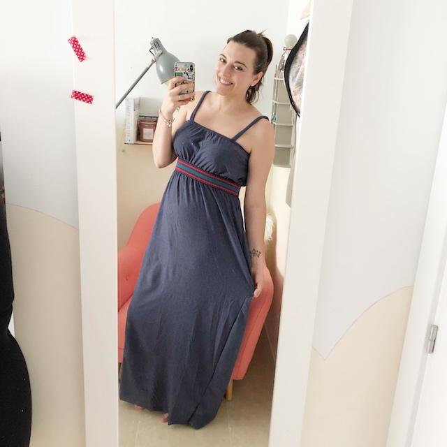 vestido lalaland largo