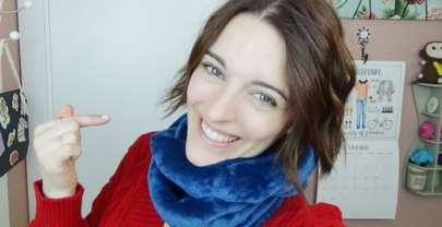 Cómo hacer una bufanda rápido y fácil – DIY costura