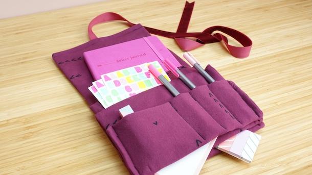 Funda para bullet journal DIY costura fácil