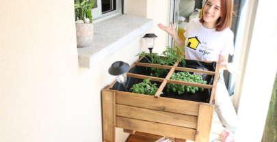 Huerto urbano en el balcón | Serie Mi Hogar Mejor