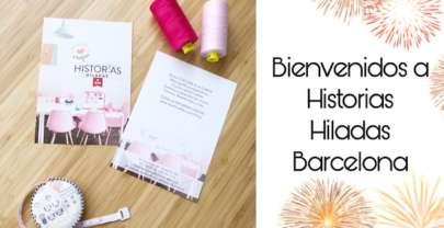 Inauguración HISTORIAS HILADAS BARCELONA | Primeras clases