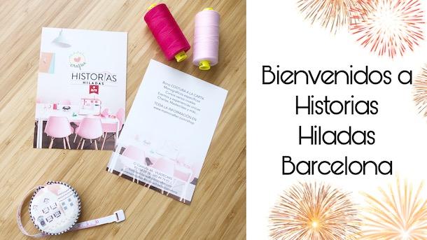 Inauguración HISTORIAS HILADAS BARCELONA   Primeras clases