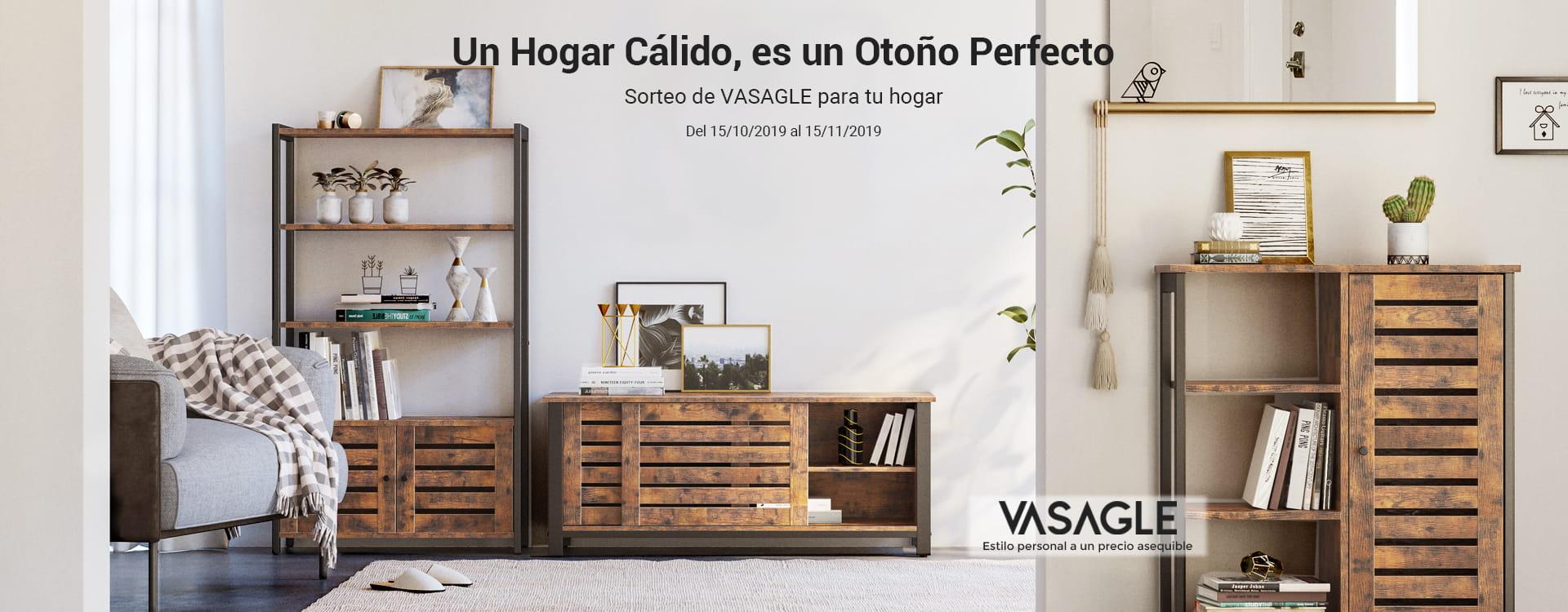 SORTEO DE VASAGLE PARA TU HOGAR