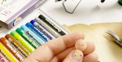 Botones con silicona y pasteles