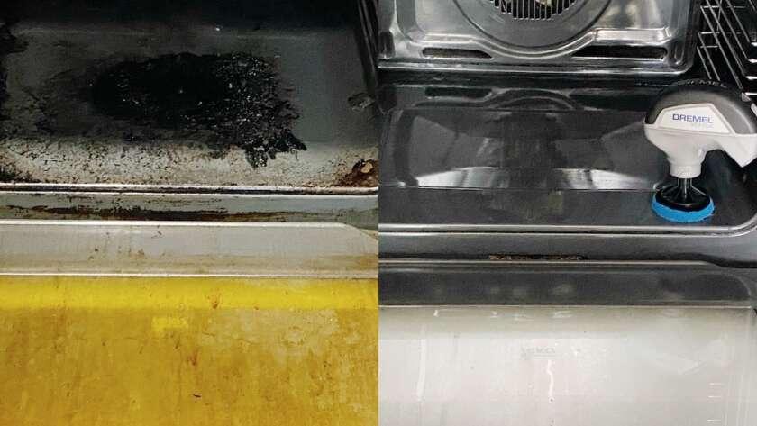 Cómo restaurar el horno con la Dremel Versa